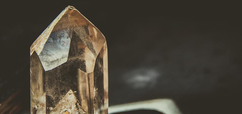 Kristall im Sonnenlicht
